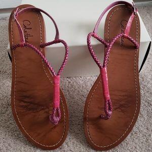 Cole Haan Sz 10 1/2 Flat Sandals